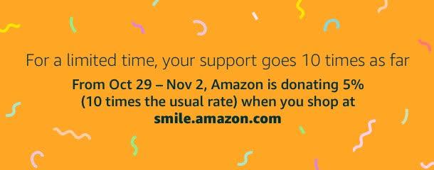 Amazon Smile donation
